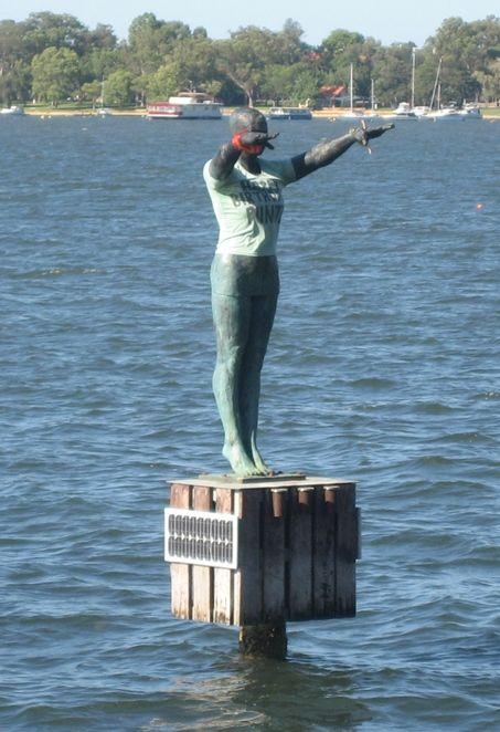 Eliza sculpture
