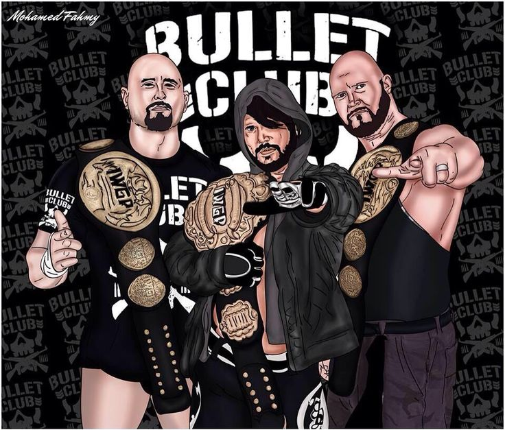 Bullet Club in IWGP, i think WWE will resurrect them, maybe when Finn Bálor become main roster, that'll happen