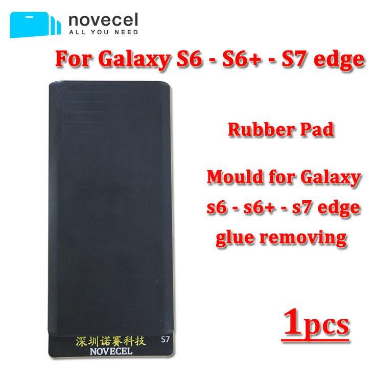 Novecel Silicone Rubber pad For Samsung Galaxy S7 Edge / S6 edge / S6 edge plus glue removing