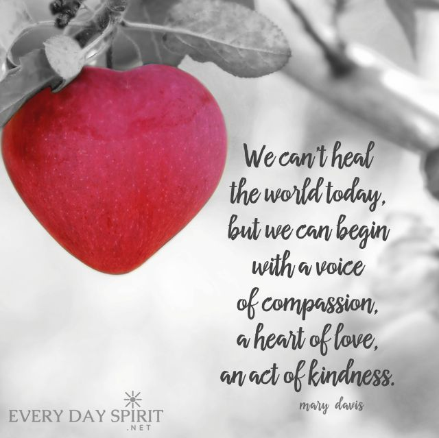 Sow love today. xo See the app of peaceful and beautiful wallpapers at ~ www.everydayspirit.net xo #peace #harmony #compassion