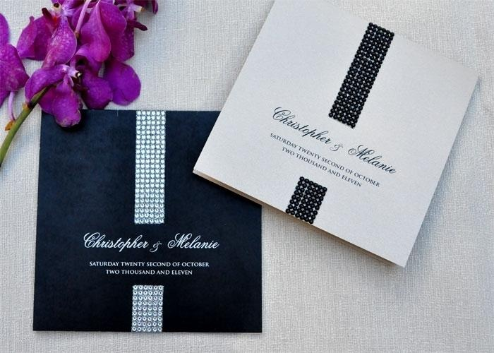 Bling Wedding #Invitations #invites #sparkle
