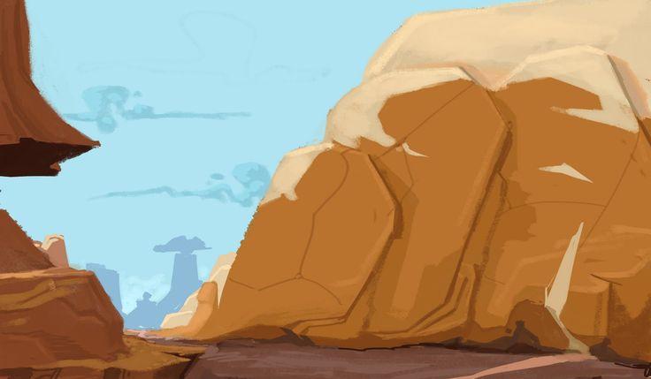 Looney tunes desert background - photo#14