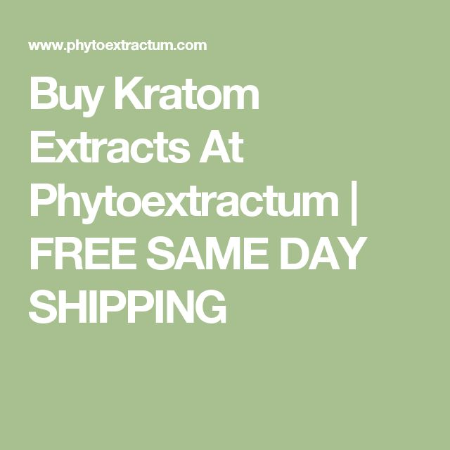 Buy Kratom Extracts At Phytoextractum | FREE SAME DAY SHIPPING