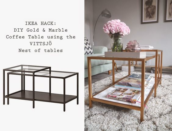 Seeing as you guys loved last week's DIY Bedside Table ( here ) using an Ikea step stool, I thought I'd share another Ikea hack t...