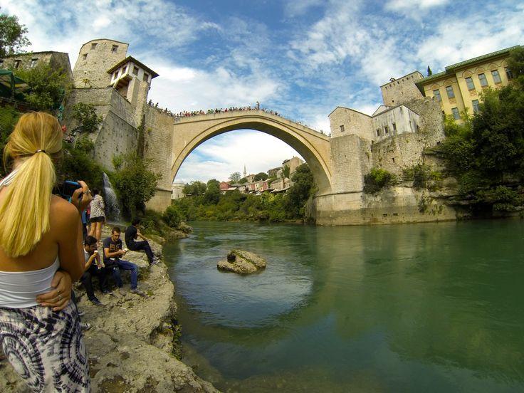 Mostar - Bosnia and Herzegovina - 24 Metre Jump