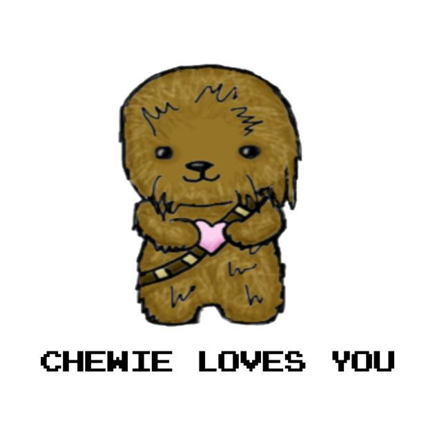 Awesome 'Chewbacca+Valentines+Day' design on TeePublic!