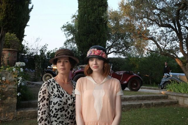 "Here with the first official pictures of Woody Allen's new film called ""Magic in the Moonlight"". Partly filmed in Le Var"