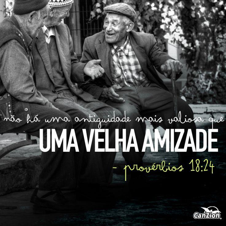 """""""O amigo ama em todos os momentos; é um irmão na adversidade."""" Provérbios 17:17    #SomosCanZion #amigo #irmão #amizadepravidatoda"""