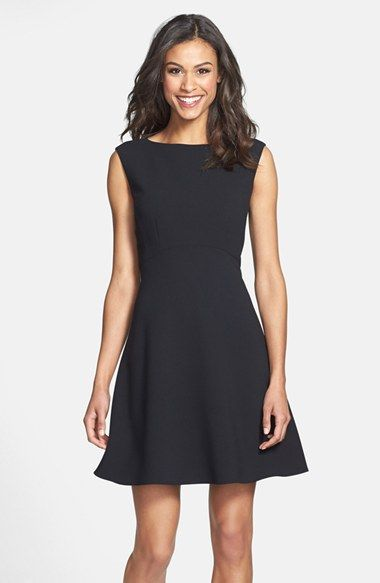 Tahari Empire Waist Fit & Flare Dress (Regular & Petite) available at #Nordstrom