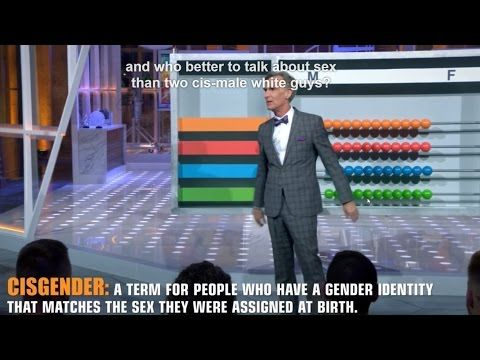 Bill Nye DESTROYS the Gender Binary with an Abacus (Part 1 of 2) - Bill Nye Saves the World - YouTube