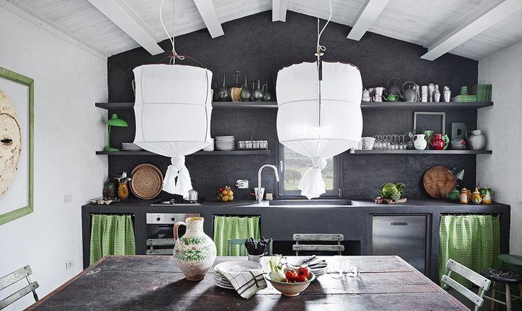 Oltre 25 fantastiche idee su cucina in muratura su for Caminetti in stile spiaggia