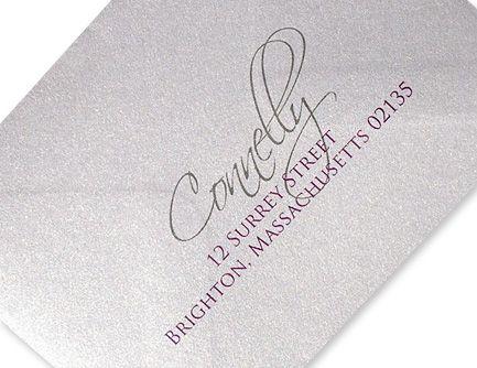 envelopes printed using LCI Papers envelope printing and addressing service