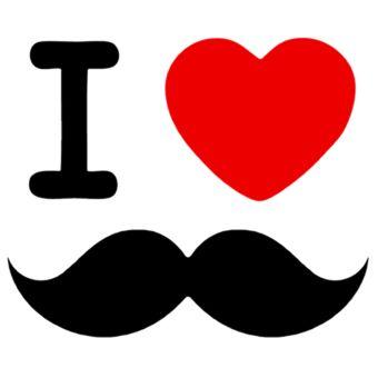 Adoro coisas malucas tipo bigode