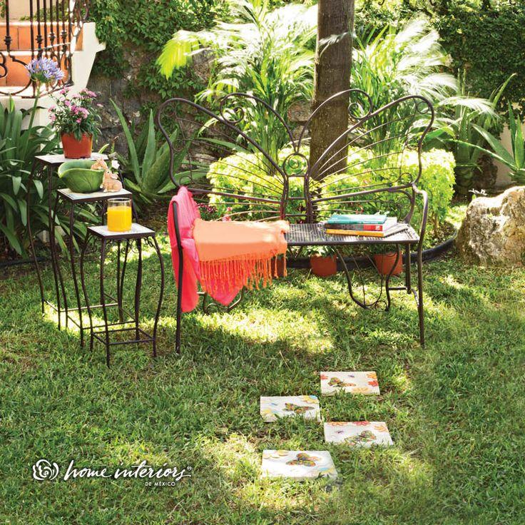 Las 25 mejores ideas sobre banca para patios en pinterest - Como disenar un jardin exterior ...