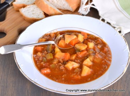 For many years, I have been making this hearty soup known as Goulash.  It's a well-filled soup and is a very filling one! Good any time of the year, this soup is especially tummy-warming on c…