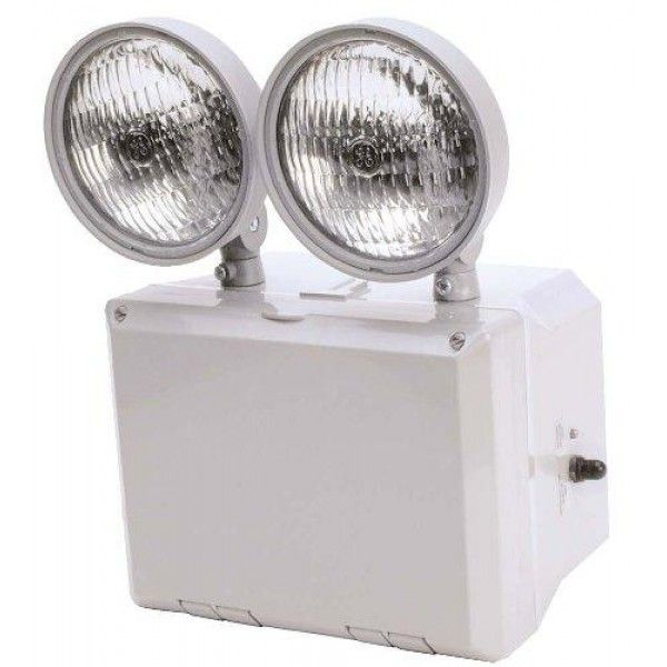 WET LOCATION EMERGENCY LIGHT, 90 MIN., 120~277V, 2 X 7.2W, 6V  Specifications. High-impact thermo-plastic housing. Wet location listed with seamless #silicon #gaskets. Integral breather vent and sealed test switch. Two fully-adjustable 7.2 watts. Optional 15 watts of remote capacity RC. Dual voltage 120277.