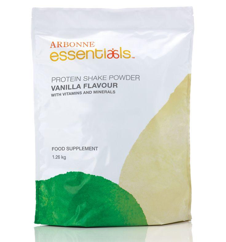 Protein Shake Mix Powder - Vanilla #2979 - Arbonne