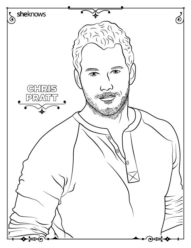 Pin On People Coloring Pages