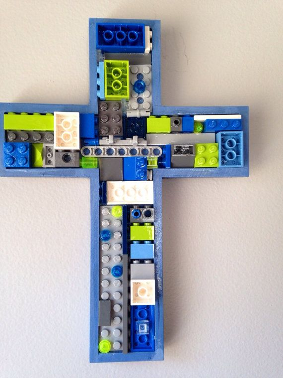 Handmade mosaic cross  communion baby gift by MosaicTreasureBox, $30.00