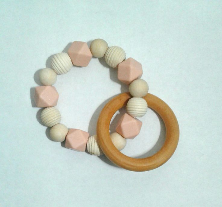 Teething Rattle Ring mafr nu Mother May I Baby Boutique.