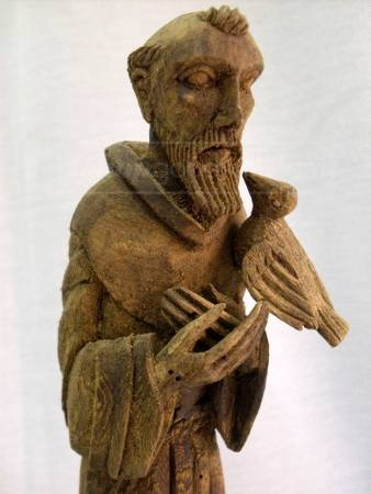 St. Francis statue - love this