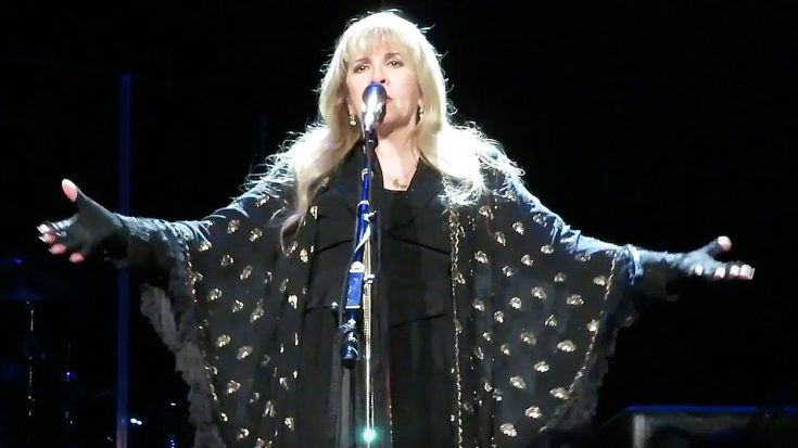 Stevie Nicks Stops Concert To Give An Inspirational Speech That No One Saw Coming!