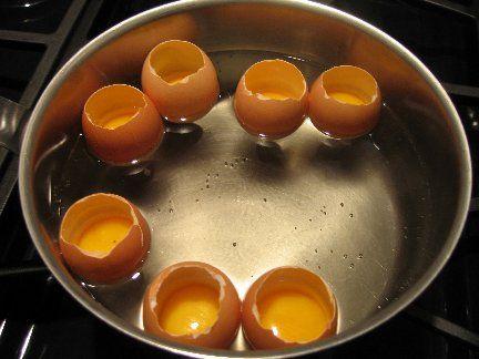 Arpege Eggs Recipe - Hot-Cold Soft Boiled Eggs