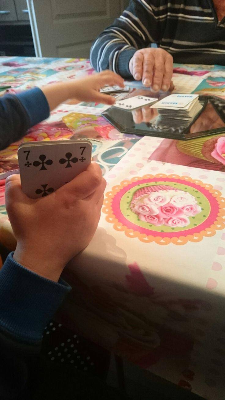 Potje kaarten?
