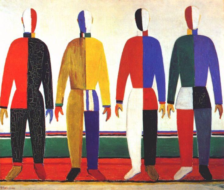 "Malevich ""Sportsmen"" 1928"
