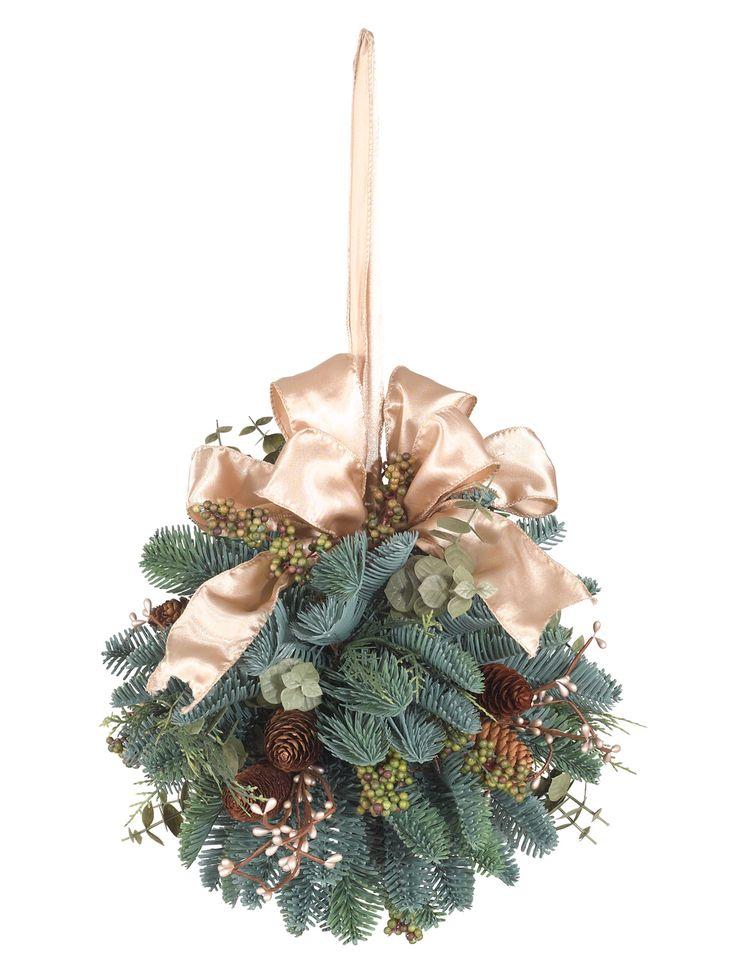 Mountain Meadow Christmas Kissing Ball