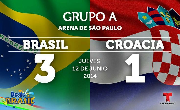 Gpo A Brasil 3 Croacia 1