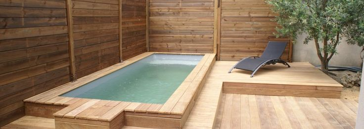 8 best mini piscines en bois images on pinterest petite