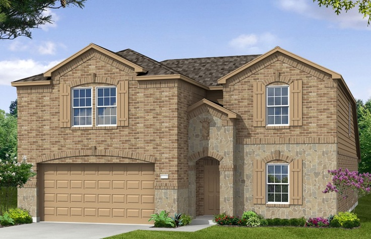 Centex Home Model Two Story Family Room