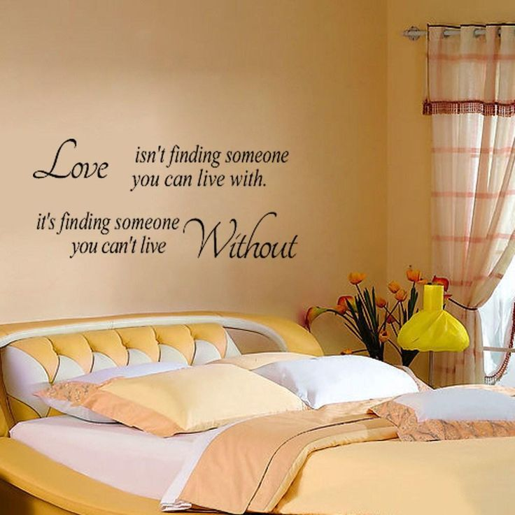 Love Isnu0027t Finding Wall Stickers Quote Letters/Words Removable Family Wall  Vinyl Decal Room Home Art Decor Part 14