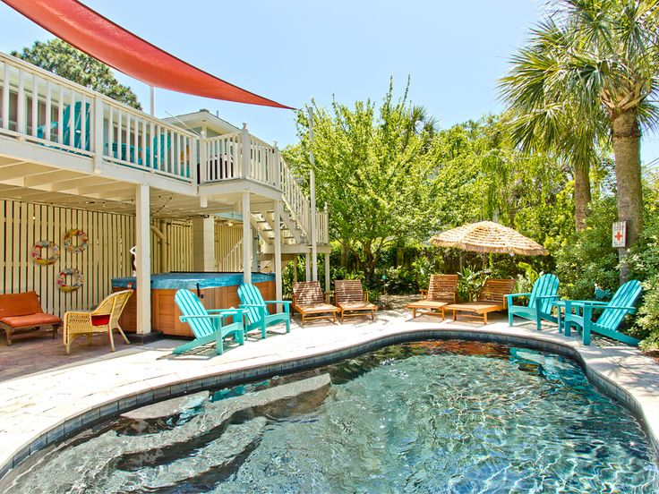 25 best Private Pools and Hot Tubs on Tybee images on Pinterest