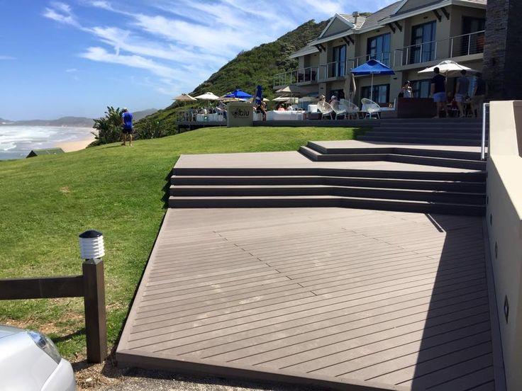 Outdoor Co Extrusion Deck, Wood Plastic Composite Floor Option Types