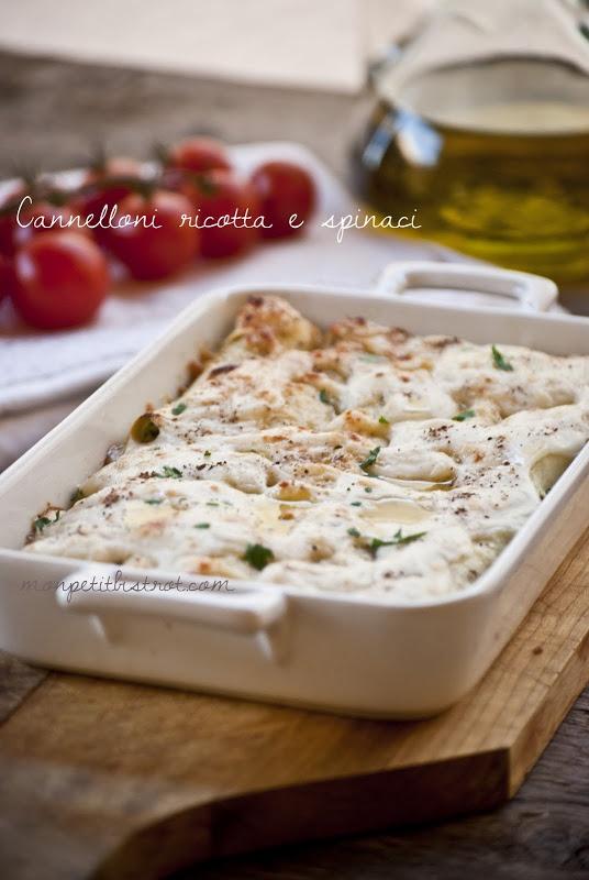 Cannelloni ricotta e spinaci_Mon petit bistrot