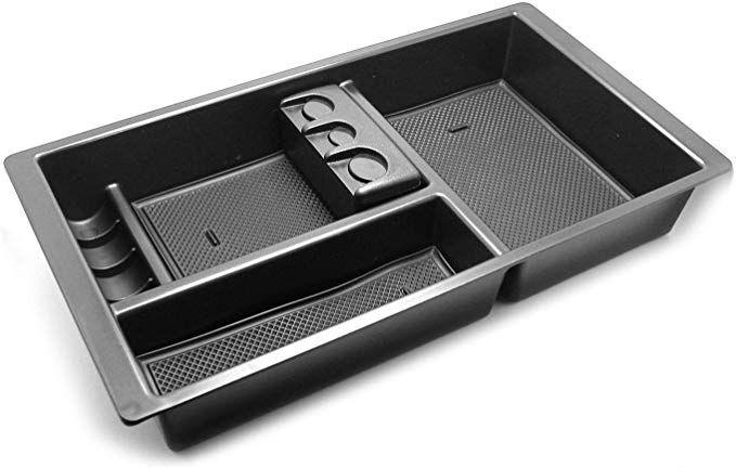 YaaGoo Center Console Organizer Tral for Ford SuperDuty F250 2011-2016 F350 Center Console Tray