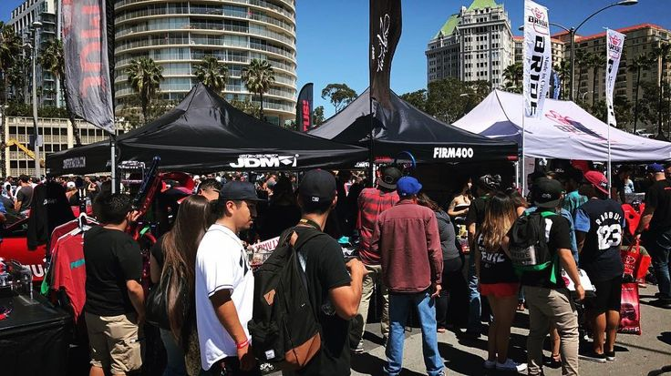 #TBT - It's Always Busy @ Our Pop-Up During The Formula Drift Season Opener In The Streets Of Long Beach / Take Advantage Of Our FLASH SALE This Weekend @ RaceWars Season Closer 11/19 @ The Irwindale Speedway / Thank You To All Of Our Supporters  _____________________________________________________ Turn On Your Notifications Like & Follow @firm400 _____________________________________________________  #firm400 #firm400magazine #firm400popup #popupshop #jdmsport #formulad #formuladrift #fdlb…