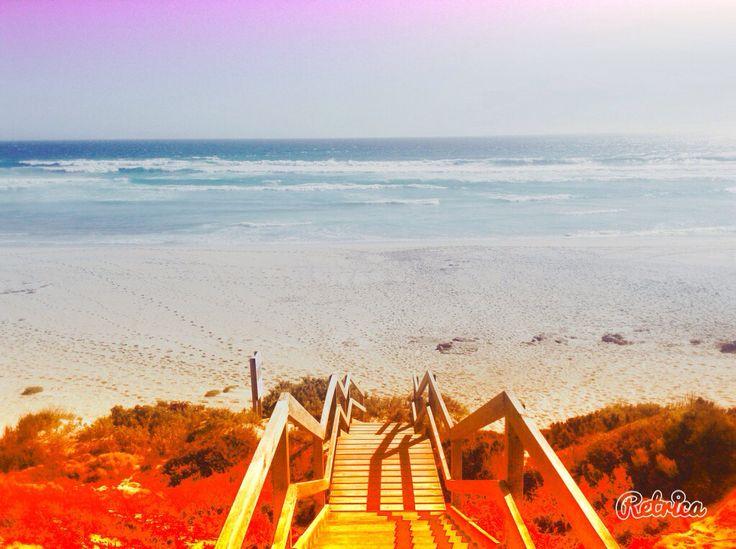 A beautiful beach on the coast near Streaky Bay