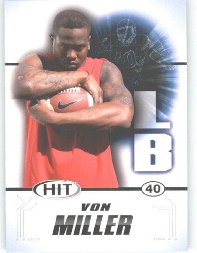 2011 Sage HIT Football Card #40 Von Miller (RC - Rookie Card) Texas A&M FIRST EVER Professional Trading Card - Shipped in Protective Screwdown Case by Score. $2.52. 2011 Sage HIT Football Card #40 Von Miller (RC - Rookie Card) Texas A&M FIRST EVER Professional Trading Card - Shipped in Protective Screwdown Case