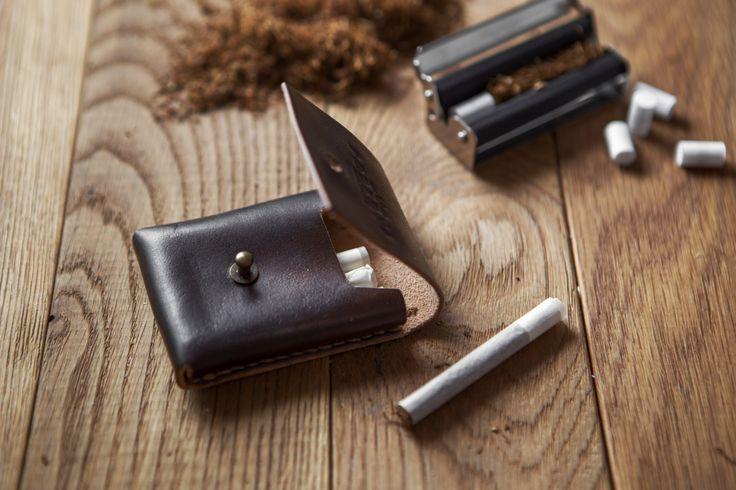 Cigarette Case/Leather Cigarette Case/ Handmade Cigarette Case/ Cigarette Holder by PodkovaShop on Etsy