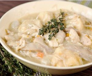 5-Minute Prep Chicken and Dumplings | AllFreeSlowCookerRecipes.com
