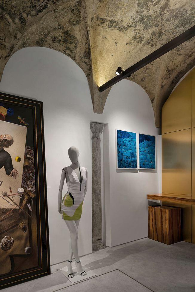 """DANA"" Concept Store - Desk #artgallery #churchboutique #salahkeilani #art #painting #interiors #style"