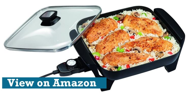 We've found the best electric skillet you can buy for just $20. Read and bookmark this review for your shopping. Find the best electric skillet today!