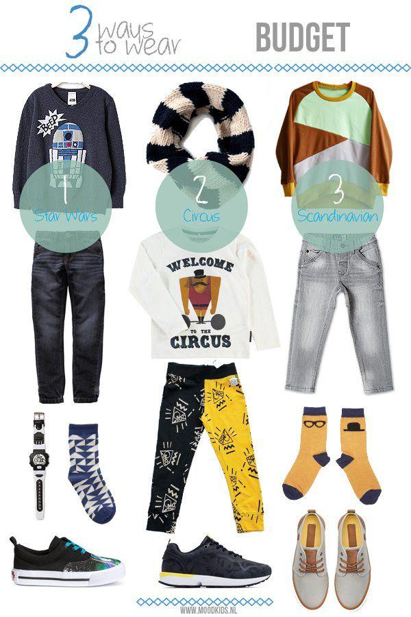 3 ways to wear... budget. #boys  #doctorfashion #moodkids http://www.moodkids.nl/trend/fashion-trend/2015/12/28/budget-look?utm_source=MoodKids+Updates&utm_campaign=f3700d4644-2016_week_1&utm_medium=email&utm_term=0_87d45d0a44-f3700d4644-195719637