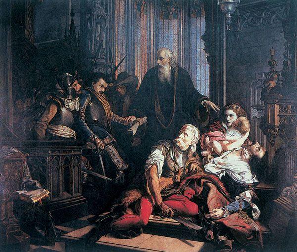 Madarász Viktor, Kurucz és labanc