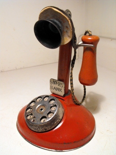 Rare candlestick telephone toy