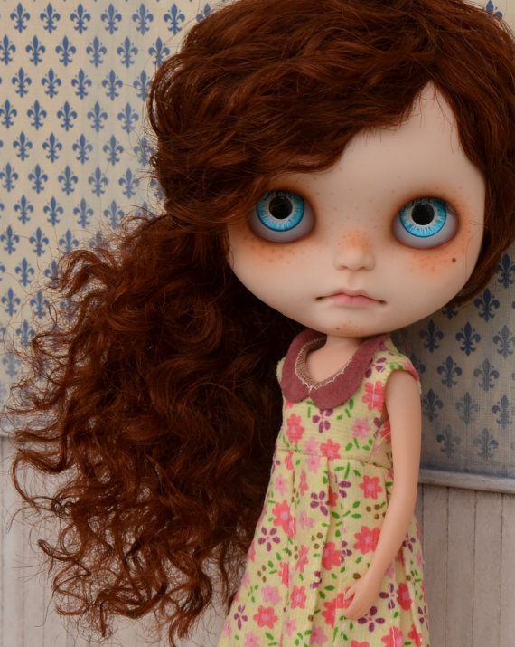 Ooak custom blythe doll by natcase1