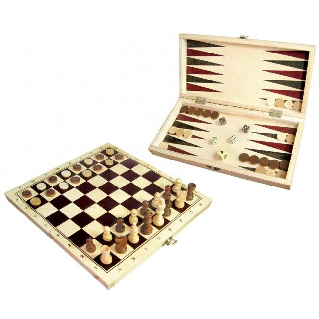 Timeless classics and triple the fun - chess, checkers and backgammon in one. The Elves think Dad would absolutely love this!   http://www.entropy.com.au/fun-factory-chess-checkers #entropytoys #fathersdaygifts #giftsfordad #chess #boardgames